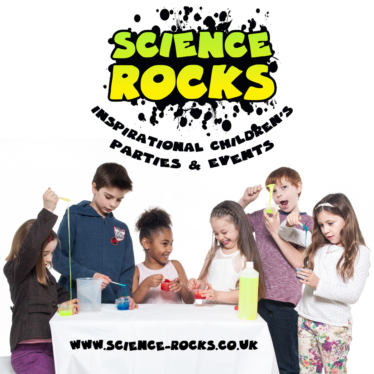 Science Rocks Birthday Parties For Boys & Girls Aged 5-12